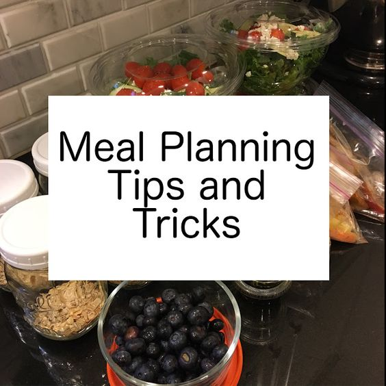 Meal Planning Tips and Tricks- Click for free meal planning template!