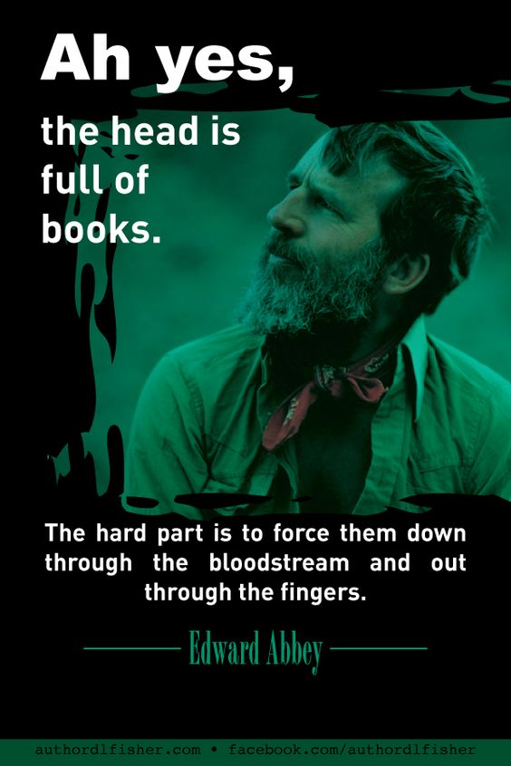 Edward Abbey was a unique individual, anarchist, author, essayist, and advocate for environmental issues and public land policies.