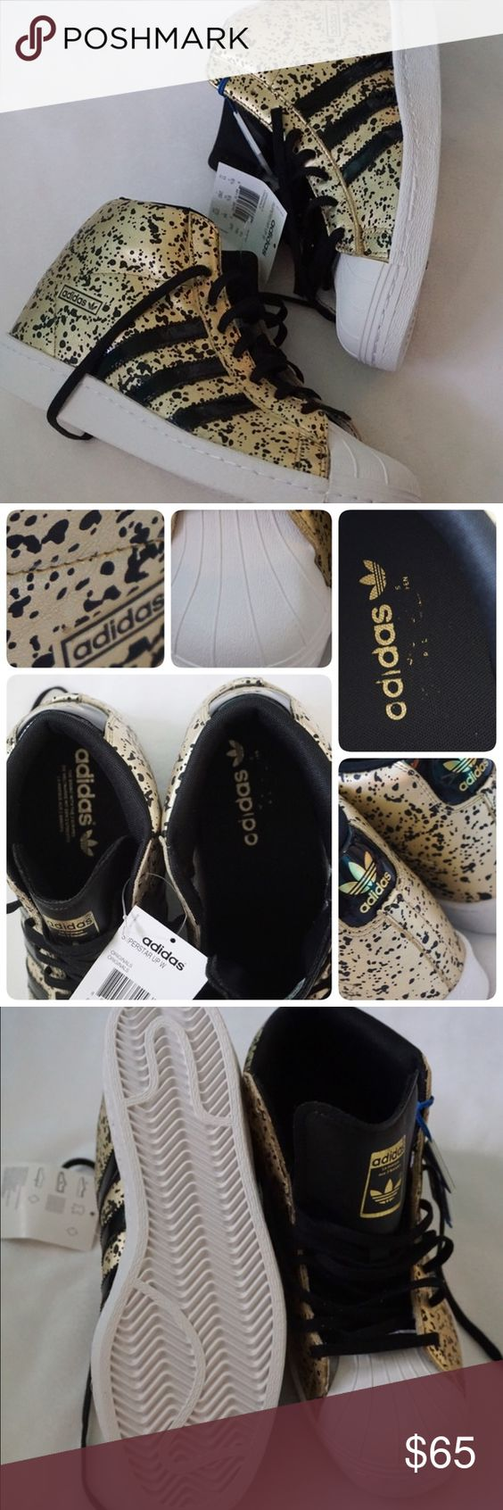 LISTING ADIDAS SUPERSTAR UP W SIZE 11WMN -BRAND NEW IN BOX NO LID -SIZE: 11 WOMEN -COLOR: BLACK/WHITE/GOLD -MADE IN INDONESIA -INCLUDE ORIGINAL BOX WHEN SHIP NO LID ⚠️⚠️⚠️⚠️PAY ATTENTION TO THE INTERIOR OF THE SHOES ⚠️⚠️⚠️⚠️⚠️ ⚠️⚠️⚠️PLEASE UNDERSTAND SOMETIME THE BOX POSSIBLY DAMAGED. IF YOU CONCERNED ABOUT THE BOX PLEASE ASK FIRST BEFORE PURCHASE. PLEASE PAY ATTENTION TO DETAILED OF SHOES OF THE PIC. THANKS ⚠️⚠️⚠️⚠️⚠️       ⭐️TOP RATED SELLER FAST SHIPPER NEXT DAY SHIPPING ❌NO TRADE ❌NO…
