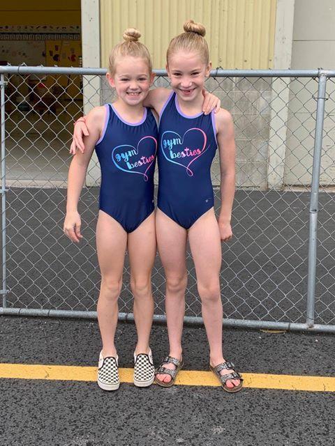 Destira Girls Gym Besties Gymnastics Leotard