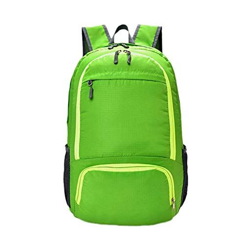 Unisex PU Leather Backpack Camouflage Green Print Womens Casual Daypack Mens Travel Sports Bag Boys College Bookbag