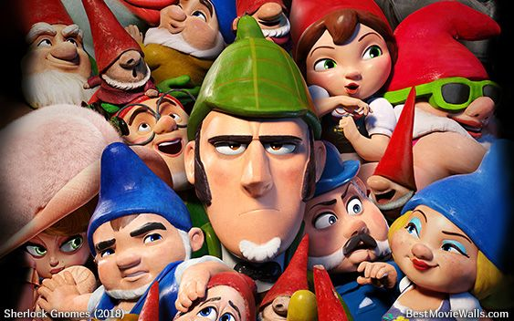 Sherlockgnomes Is A Bit Busy With All These Gnomes In This Wallpaper Hd Gnome Wallpaper Sherlock Shakespeare Plays