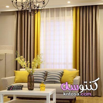 ستائر 2021 تناسق ألوان أقمشة الستائر والكنب تنسيق الستائر مع لون الجدار Living Room Decor Curtains Curtains Living Room Living Room Decor Apartment