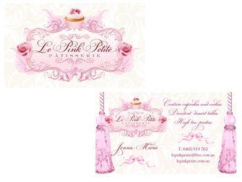 Le Pink Petite Business Card Design