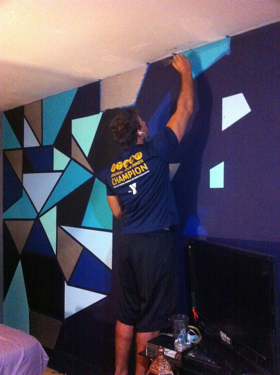 shape the o 39 jays and accent walls on pinterest