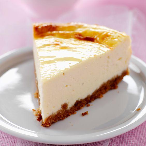 Recette du véritable cheesecake new-yorkais, dessert traditionnel des Etats-Unis