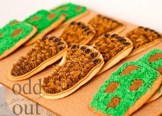 big foot cookies