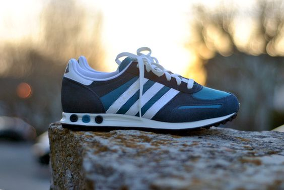 adidas L.A.Trainer Turquoise / Blue
