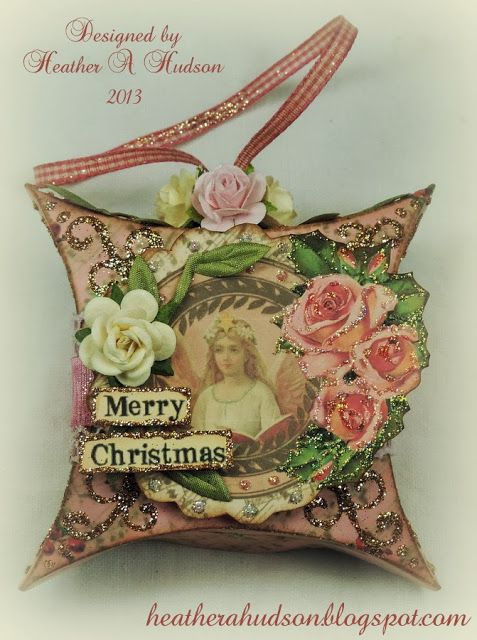 Easy DIY Christmas Advent, Countdown, Ornament that I designed. http://heatherahudson.blogspot ...
