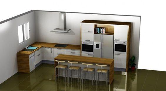 Les projets-implantation de vos cuisines (7588 messages) - Page 505 - ForumConstruire.com