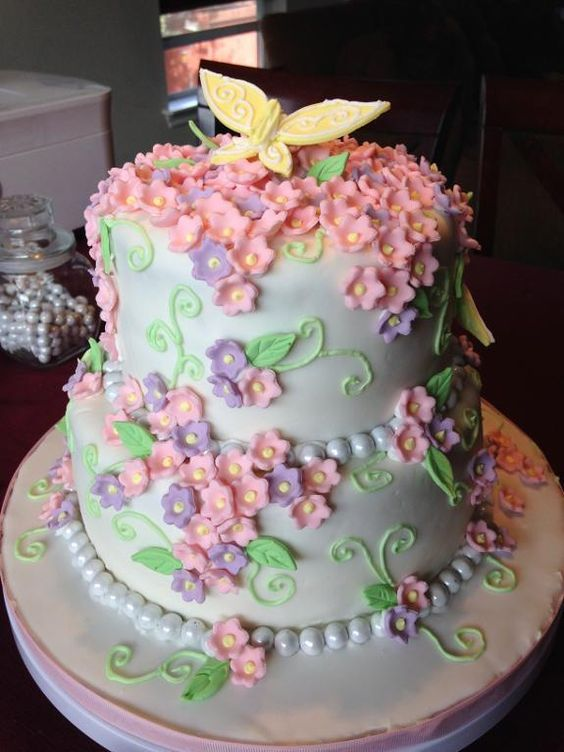 Cake designs, Fun cakes and Tiered cakes on Pinterest