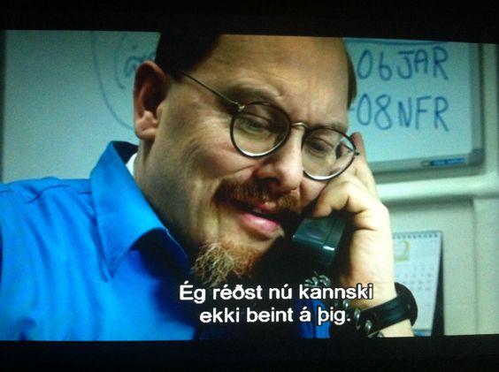 Ég réðst nú kannski ekki beint á þig.