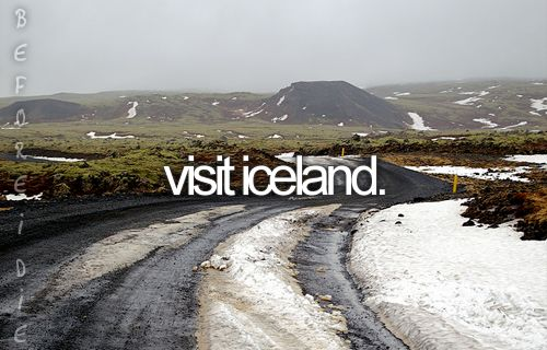 I kind of want to go there :) From what I've heard (or seen pictures!), it's beautiful.