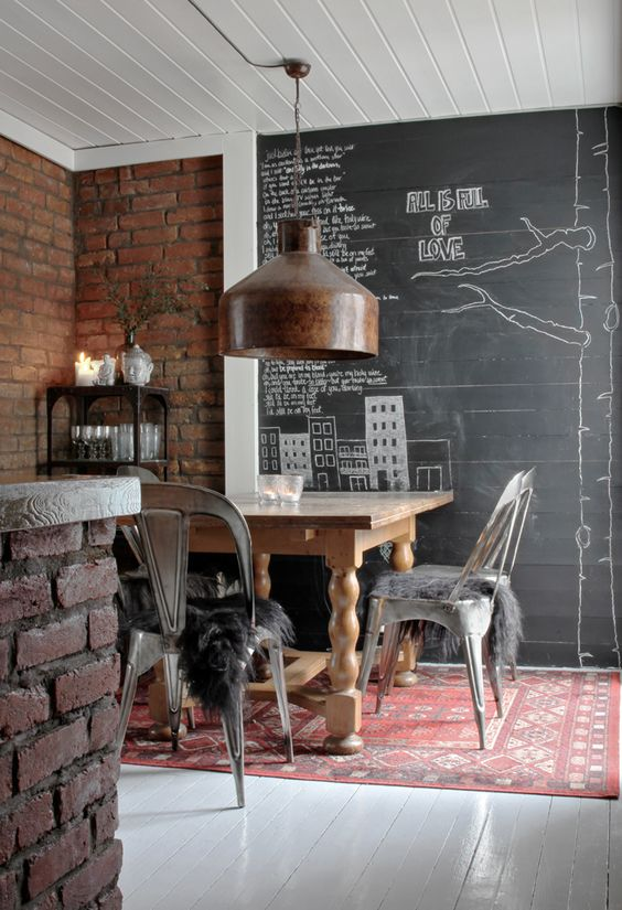 Industrial kitchen, boligpluss, styling/foto: Nina Holst