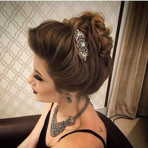 أجمل تسريحات العروس لسنة 2016 ماذا تختارين لالة موقع يالالة Yalalla Com عالم المرأة بعيون مغربية Hair Beauty Hair Styles Short Hair Styles