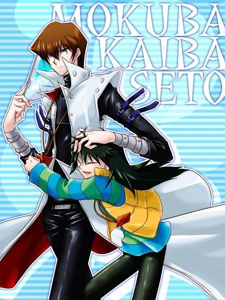 Tags: Anime, Yu-Gi-Oh!, Kaiba Seto, Kaiba Mokuba, Studio Gallop