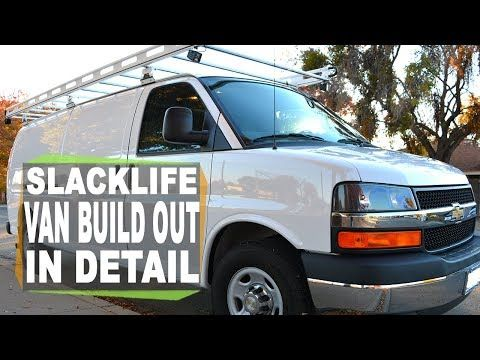 My Conversion Van Build Out In Detail For Living The Slacklife Chevy Express Youtube Good Explanation Of Batteries Chevy Express Vans Van Conversion