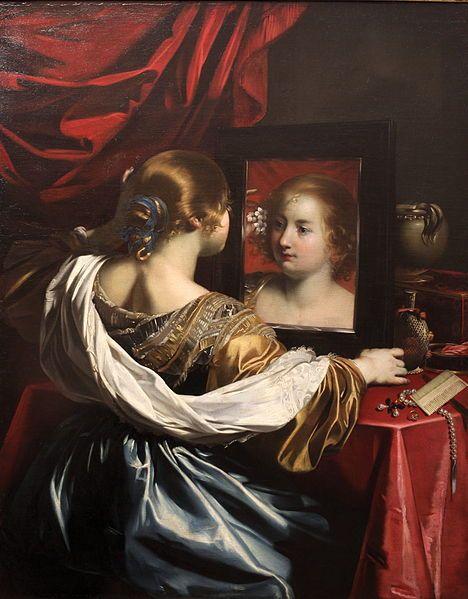 Nicolas Regnier - Vanity - circa 1626 Museum of Fine Arts of Lyon, , France