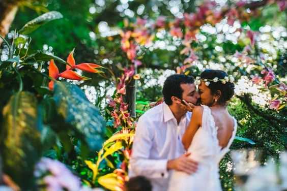 Tropical Brazilian Wedding in São Paulo