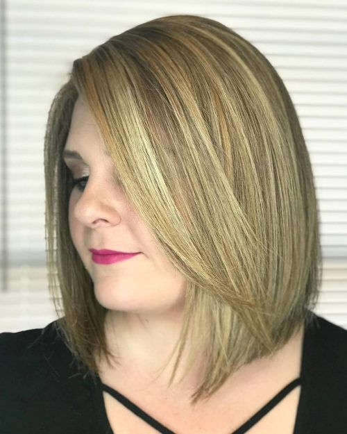28 Most Flattering Bob Haircuts For Round Faces With Images