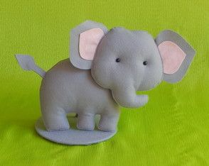 Elefante Grande Com Base