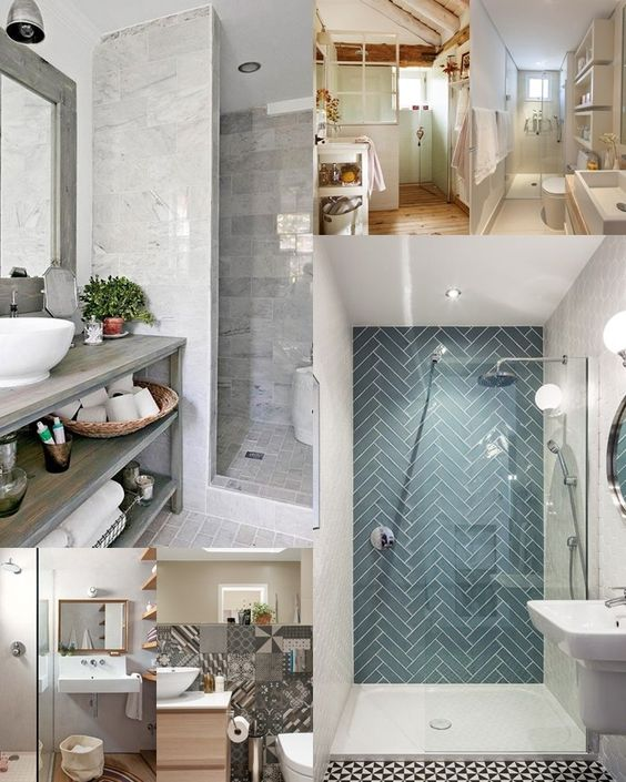 Piccoli bagni, grandi idee >>  Arredare un bagno piccolo: idee e consigli  [Small bathrooms: ideas and solutions]