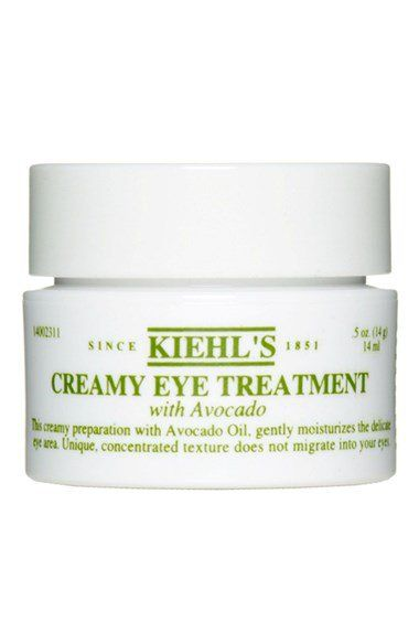 Pin for Later: How Real Women Use Beauty Products to Conceal a Hangover Kiehl's Creamy Eye Treatment With Avocado