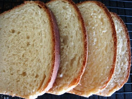 home made bread