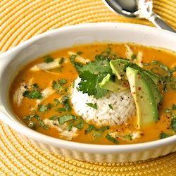 Pumpkin soup, Jasmine rice and Soups on Pinterest