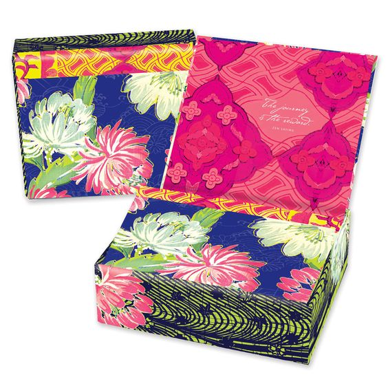 Parkside Paper   Gift - Stationery - Memento Boxed Notes - Nisha, $15.00 (http://parksidepapers.com/brand-mudlark/boxed-notes/stationery-memento-boxed-notes-nisha/)