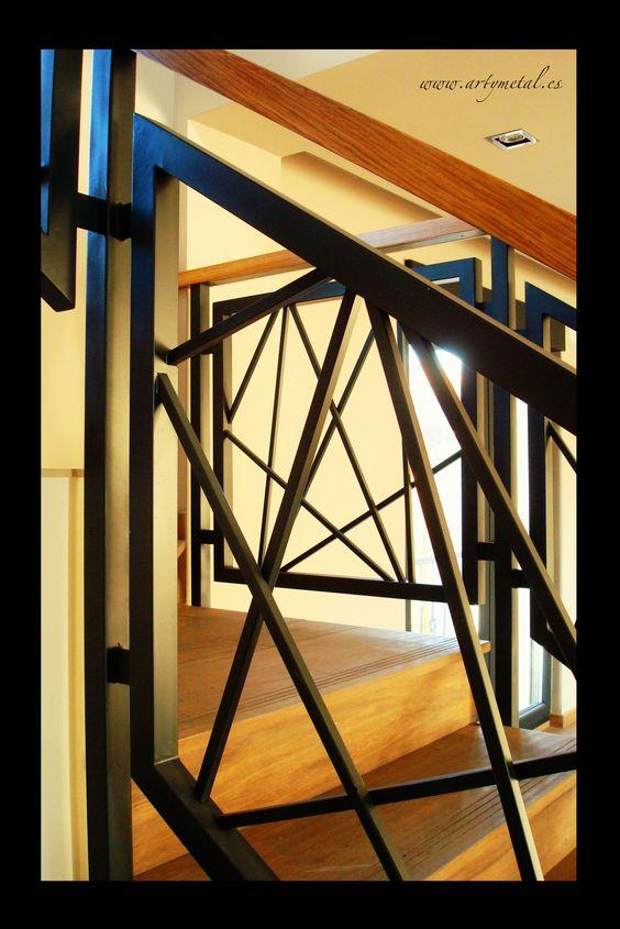Barandilla de diseño contemporaneo
