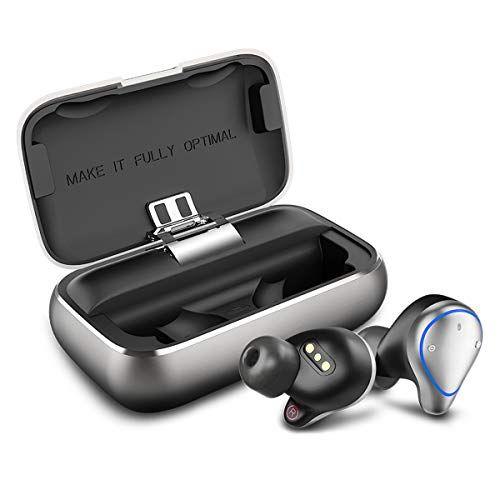 Bluetooth Kopfhorer Bokman O5 In Ear Bluetooth 5 0 Headset Stereo Minikopfhorer Sport Kabellose Bluetooth Kopfhorer Mit Porta Tragetasche Bluetooth Bohrfutter