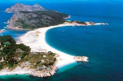 Islas Cíes (Galicia)  http://cincuentopia.com/