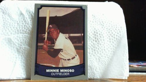 PTC. 1988 BASEBALL LEGENDS MINNIE MINOSO CARD # 51.