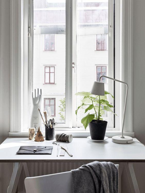 Chambre espace de travail - via Coco Lapine Conception