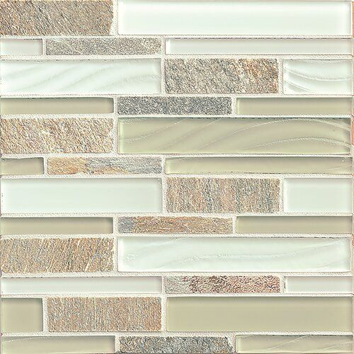 Queenstown 12 X 12 Stone Mosaic Tile In Wanaka In 2020 Stone Mosaic Tile Stone Mosaic Linear Glass Tile