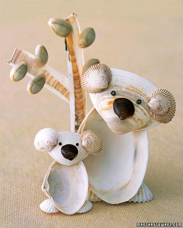 Seashell Koalas - Martha Stewart Kids' Activities