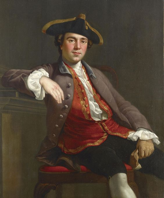 Portrait of a Gentleman by Nathaniel Dance-Holland