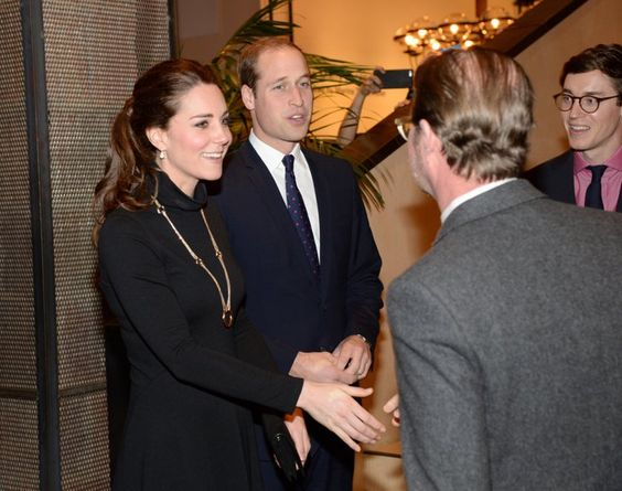 Pin for Later: Will and Kate Enjoy Some Scooby Snacks Before a Glam Night Out