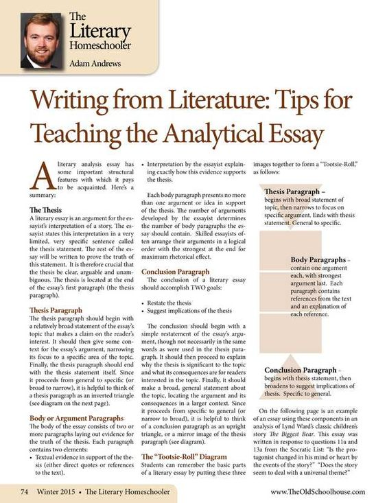 Magazine analysis essay