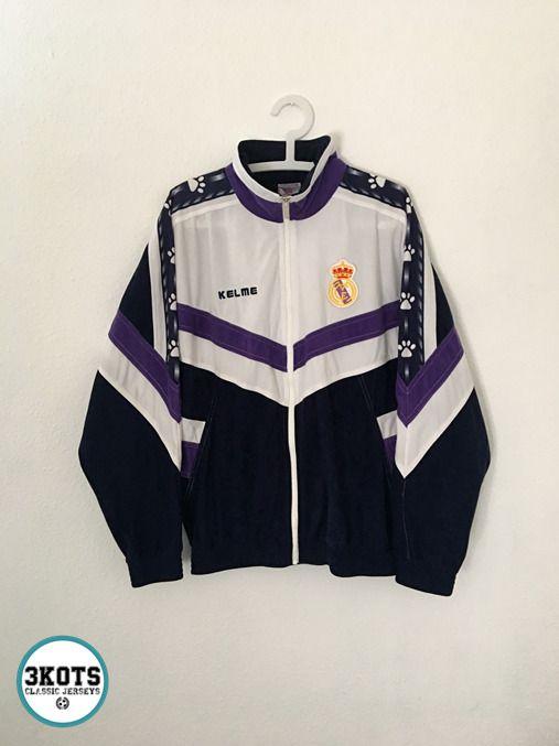 REAL MADRID 199697 Training Football Track Top M Kelme