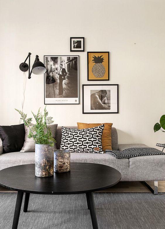 Petit salon avec beaucoup de style salon pinterest for Deco petit salon design