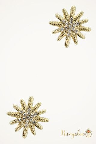 Pate Earrings-Gold – Bungalow 123