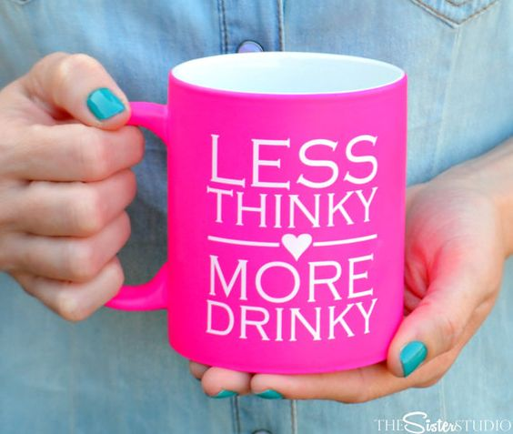 Hey, I found this really awesome Etsy listing at https://www.etsy.com/listing/236591825/hot-pink-coffee-mug-noen-fluorescent