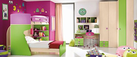 Van and tips on pinterest for Kleur kinderkamer