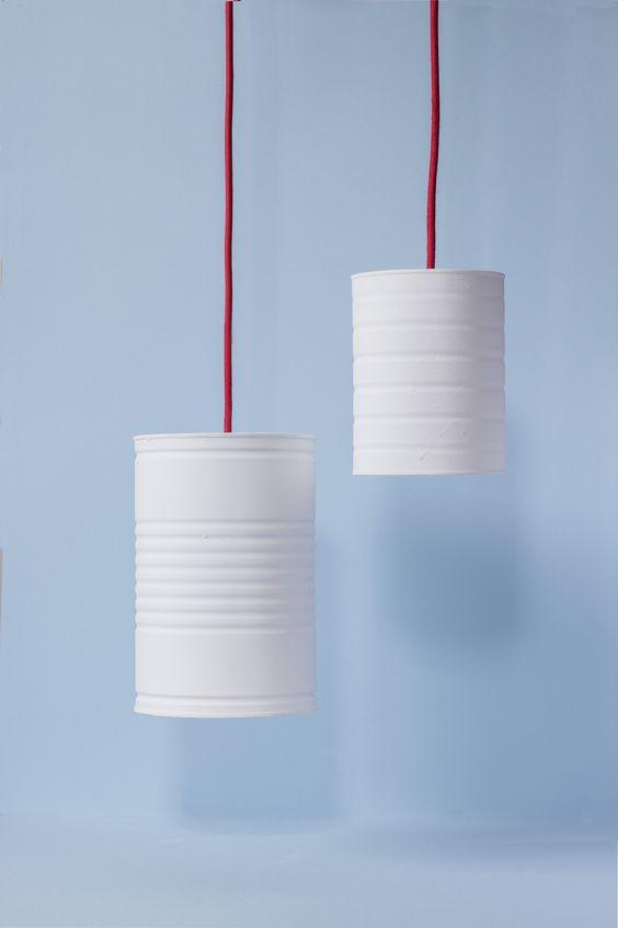DIY: Dale luz a tus residuos - Lámpara lata  Good Mood Magazine