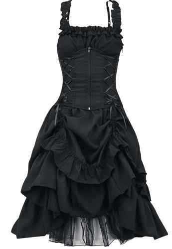 Poizen Industries Gothic Emo Punk Ladies Soul Dress, Gothic Emo Punk Dress   eBay