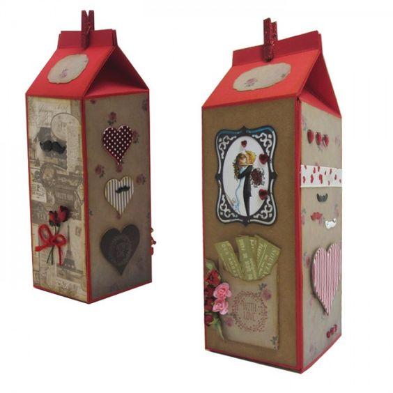 ¡Ya queda menos para San Valentín! En Abedulart hemos hecho esta caja tan chula para guardar recuerdos.  Te la enseñamos en nuestro blog: http://bit.ly/1T7TfYT