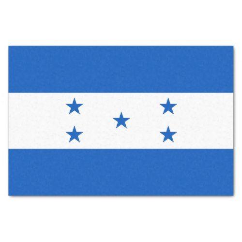 Flag Of Honduras Tissue Paper Zazzle Com Honduras Flag Flag Honduran Flag