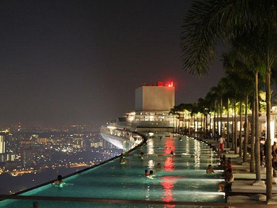 Marina bay marina bay sands and singapore on pinterest - Singapore marina bay sands infinity pool ...